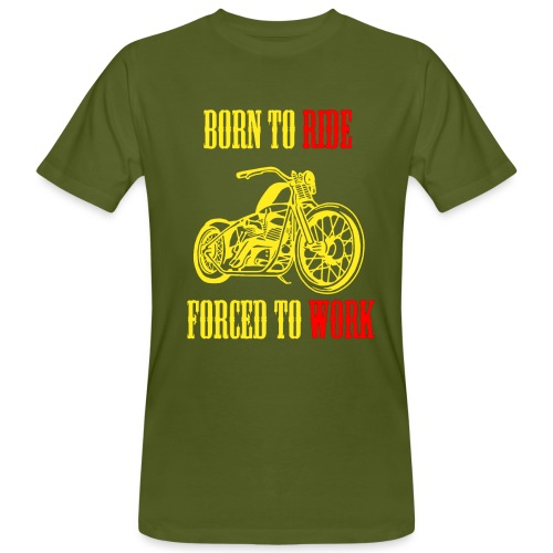 BORN TO RIDE - T-shirt bio Homme