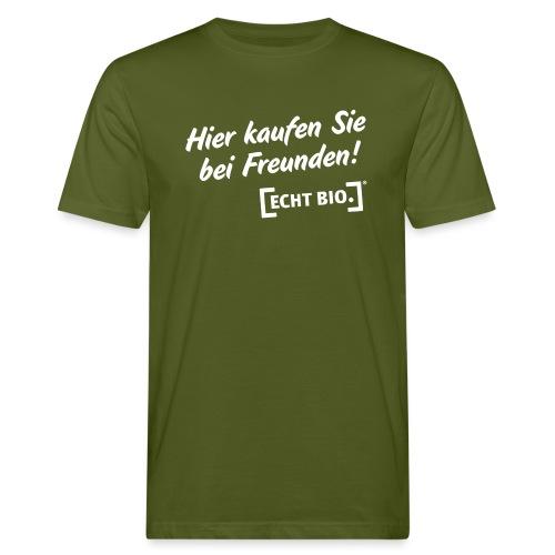 Bei Freunden einkaufen - Männer Bio-T-Shirt