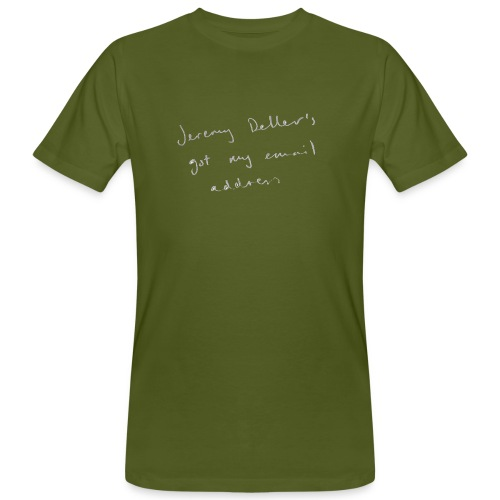 dellers email - Men's Organic T-Shirt
