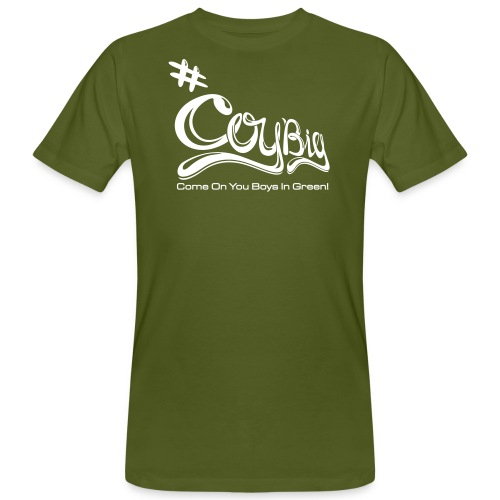 COYBIG - Come on you boys in green - Men's Organic T-Shirt