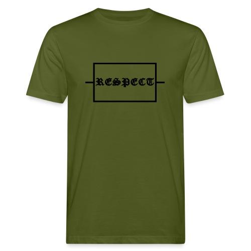 Widerstand für RESPECT - Männer Bio-T-Shirt