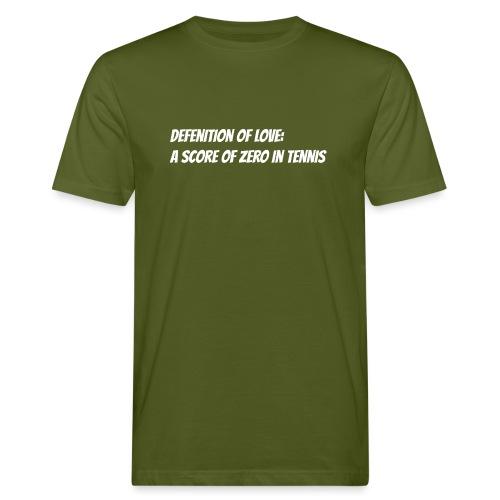 Tennis Love sweater men - Mannen Bio-T-shirt