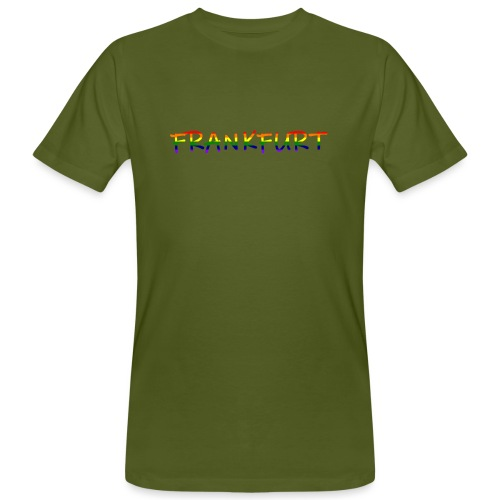 Frankfurt Rainbow #1 - Männer Bio-T-Shirt