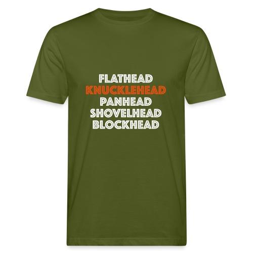Knucklehead 2C - Mannen Bio-T-shirt
