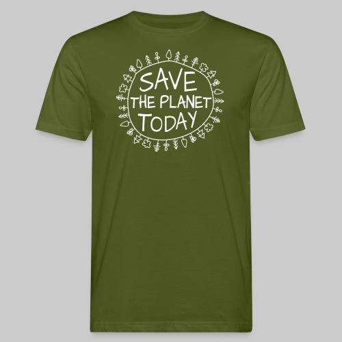 Safe the Planet - Männer Bio-T-Shirt