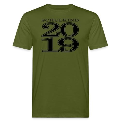 Schulkind 2019 - Männer Bio-T-Shirt