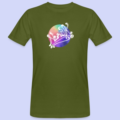 pastel rainbow, NuniDK Collection - Female top - Organic mænd