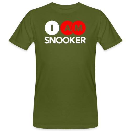 I AM SNOOKER - Men's Organic T-Shirt
