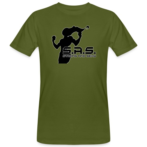 SAS babe png - Mannen Bio-T-shirt
