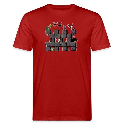 L'histoire du jeu vidéo #AbandonwareFrance - T-shirt bio Homme