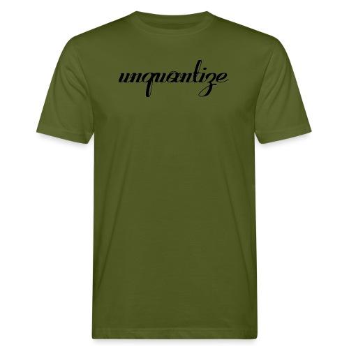 unquantize black logo - Men's Organic T-Shirt