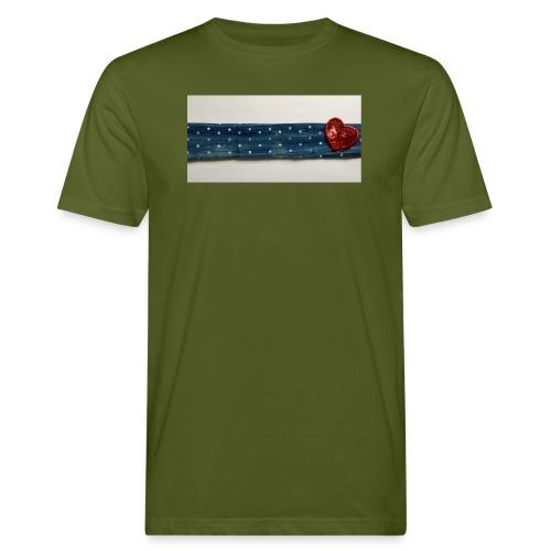 Cuore - T-shirt ecologica da uomo