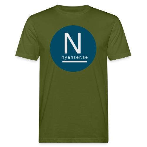 Nyanser.se mugg - Ekologisk T-shirt herr