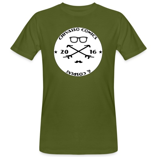 Felpa- Chivasso Comics and Cosplay - T-shirt ecologica da uomo