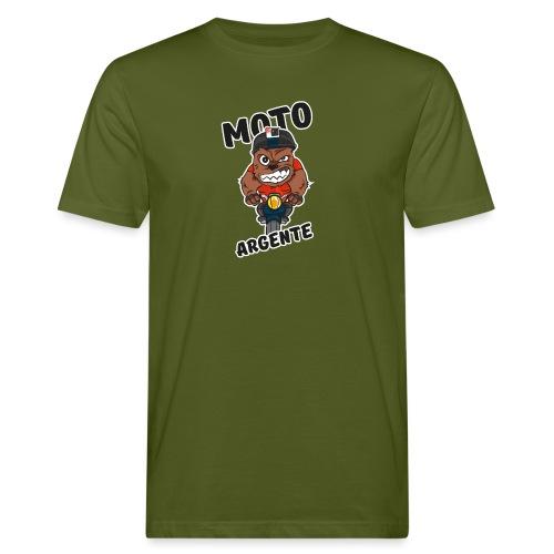 moto argente - T-shirt bio Homme