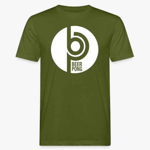 Beer Pong Kreis - Männer Bio-T-Shirt