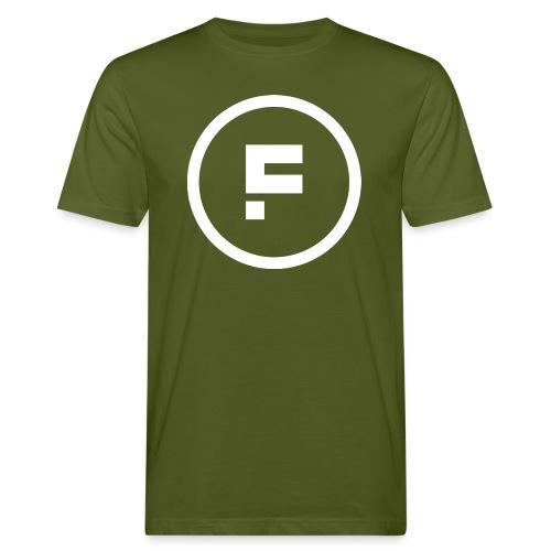 Logo_Rond_3500x3500 - Mannen Bio-T-shirt