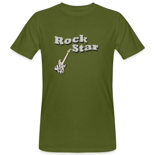 Rock star - Männer Bio-T-Shirt