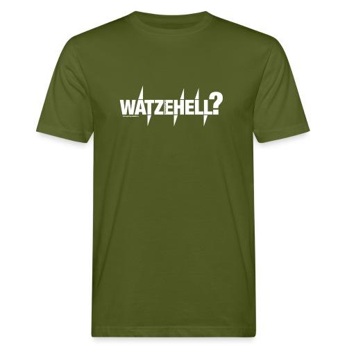 Watzehell - Männer Bio-T-Shirt