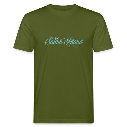 Salam Island calli bleu - T-shirt bio Homme