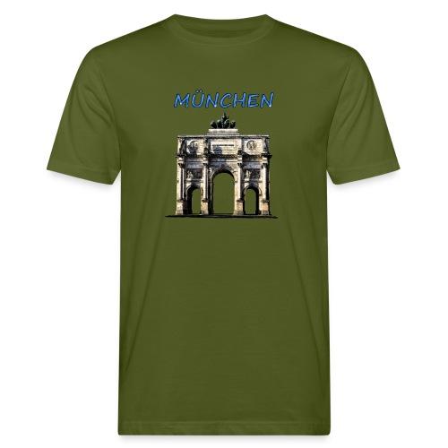 Münchnen Siegestor - Männer Bio-T-Shirt
