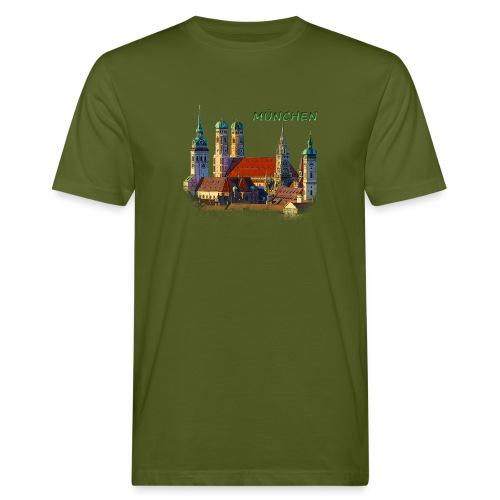 München Frauenkirche - Männer Bio-T-Shirt