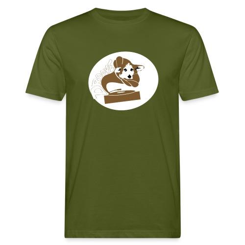 Droove logo - Mannen Bio-T-shirt