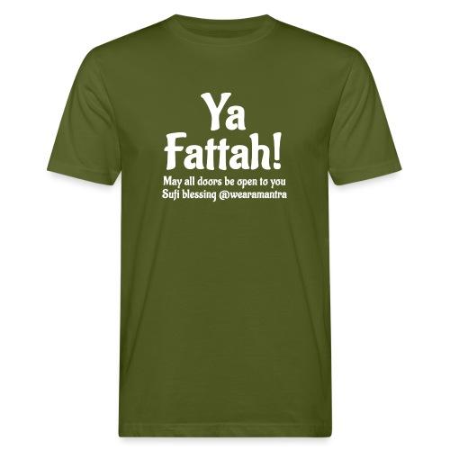 Ya Fattah 2 white - T-shirt ecologica da uomo