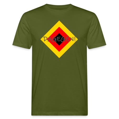 Anti-Raute - Männer Bio-T-Shirt