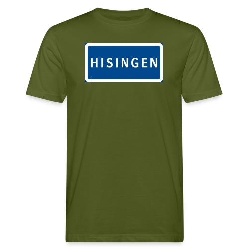 Vägskylt Hisingen - Ekologisk T-shirt herr