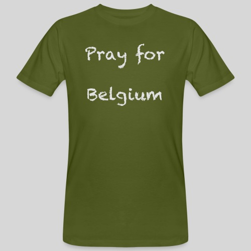 Pray for Belgium - T-shirt bio Homme