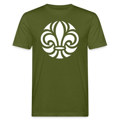 Scouterna-symbol_white - Ekologisk T-shirt herr