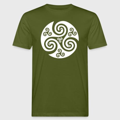 Triskel celtique - T-shirt bio Homme