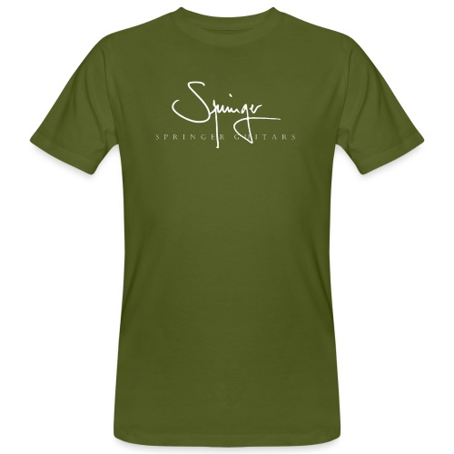 Logo Springer Guitars - T-shirt bio Homme