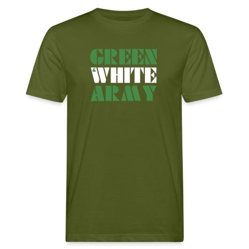 GREEN & WHITE ARMY - Men's Organic T-Shirt