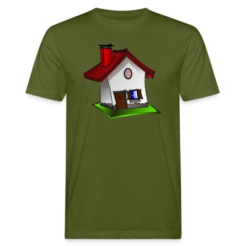 Haus - Männer Bio-T-Shirt