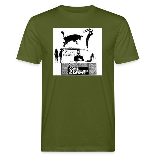 We love maccaroni - T-shirt ecologica da uomo