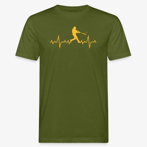 Haert line Baseball - T-shirt bio Homme