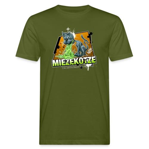 Miezekotze - Männer Bio-T-Shirt