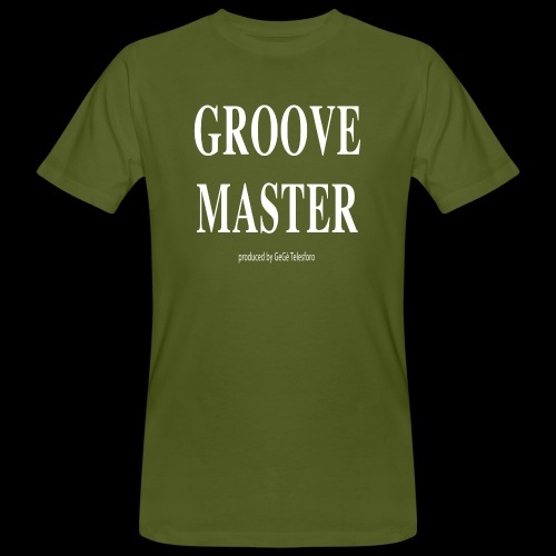 Groove Master bianco - T-shirt ecologica da uomo