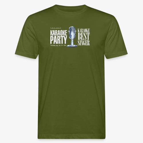 Karaoke party - Camiseta ecológica hombre