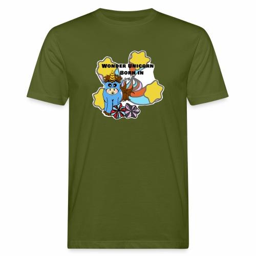 Une merveilleuse licorne est née (pour garcon) - T-shirt bio Homme