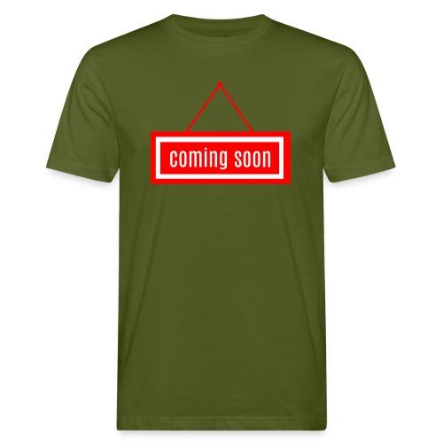 Coming soon - Männer Bio-T-Shirt