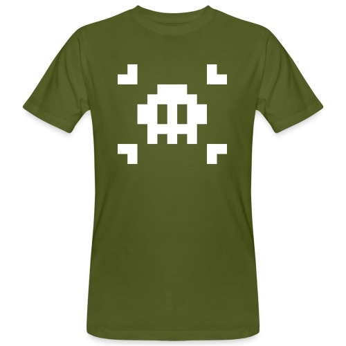 Pixel Skull - T-shirt bio Homme