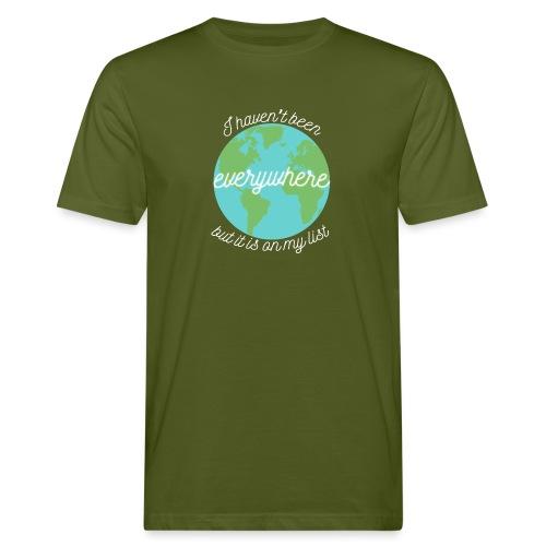 Travel the World - Ekologisk T-shirt herr