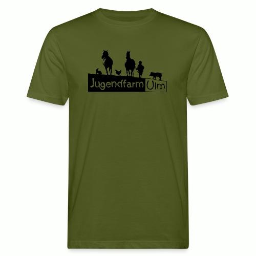 jugendfarm ulm - Männer Bio-T-Shirt