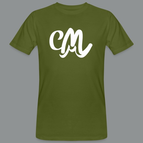 Mannen shirt (voorkant) - Mannen Bio-T-shirt
