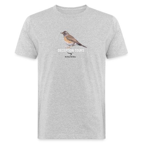 DT Vale Lijster - Mannen Bio-T-shirt