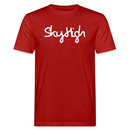SkyHigh - Men's Premium T-Shirt - White Lettering - Men's Organic T-Shirt