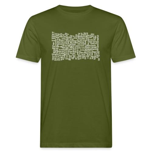 Jackspeak (white) - Men's Organic T-Shirt